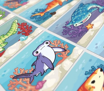Artwork – Jawesome Sharks